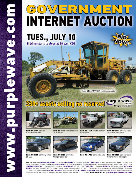 Photo: Government Auction July 10, 2012 http://purplewave.co/120710