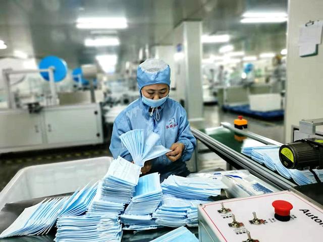 Doanh nghiệp cần tuân thủ quy trình đóng gói khẩu trang y tế