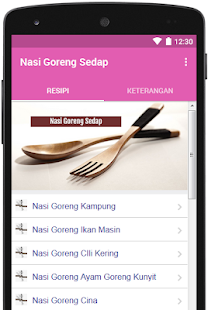 Nasi Goreng Sedap for PC-Windows 7,8,10 and Mac apk screenshot 1