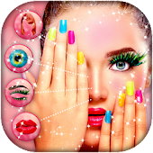 Girl Face Makeup Changer Photo Editor