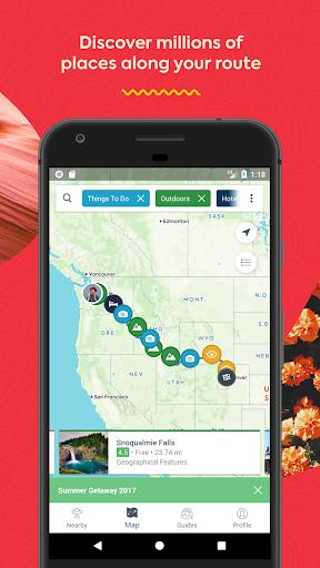 Roadtrippers - Trip Planner screenshot 3