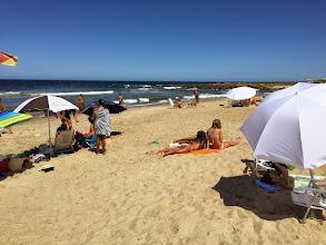 Photo: Montoya Beach, Uruguay - we practiced being lazy