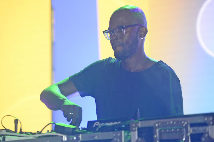 Black Coffee during a New Awakening with J.C. Le Roux on November 25, 2015 at Turbine Hall in Johannesburg, South Africa.