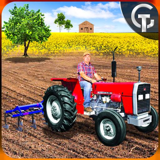 Real Tractor Farming Drive 3D - Farming Fields