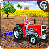 Real Tractor Farming Drive 3D - Land Cultivator