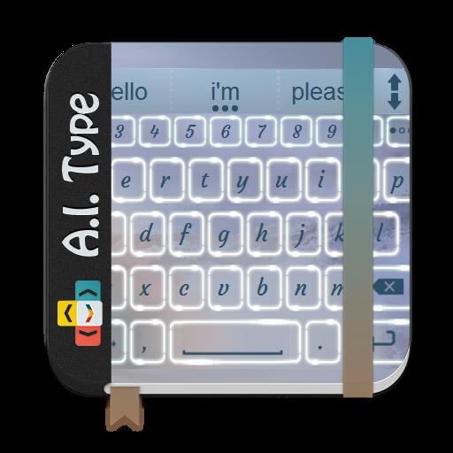 別れの雲 AiType テーマ 個人化 LOGO-玩APPs