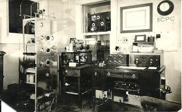 Photo: 8CPC in early 1920s B. T. Simpson from Buffalo, NY