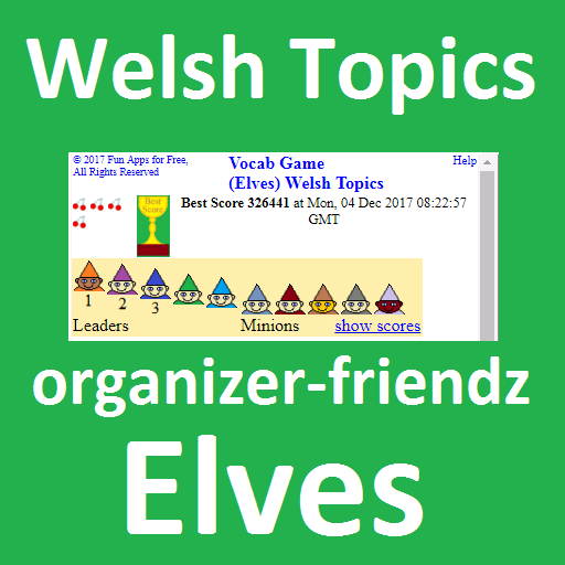 Vocab Frenzy (Elves) Welsh Topics (game)