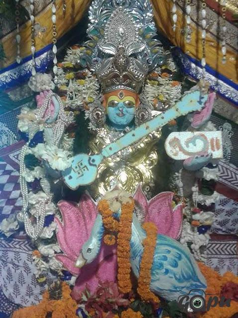 Maha Saraswati Besha of Maa Bhadrakali