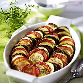 Chorizo and Tomato Casserole.