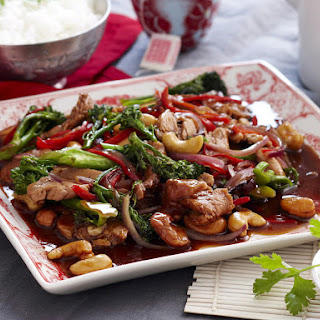 Pork with Broccoli and Oyster Sauce