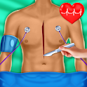 Foot & Knee Doctor - Heart Surgery Hospital Games icon