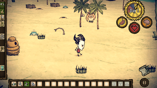 Screenshot 1 Don't Starve: Shipwrecked 0.16 APK+DATA MOD