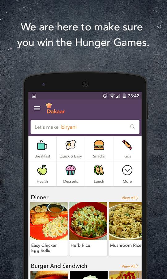 Dakaar recipe app veg nonveg android apps on google play dakaar recipe app veg nonveg screenshot forumfinder Gallery