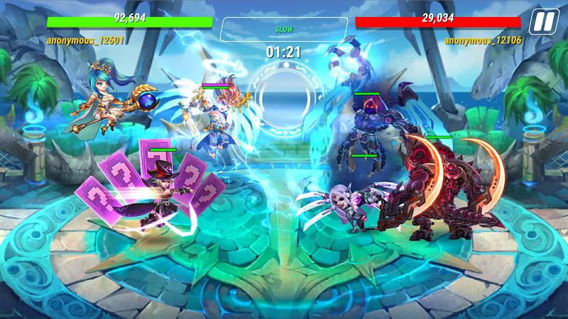 Heroes Infinity: Blade & Knight Online Offline RPG Screenshot 4