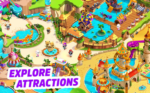 Talking Tom Pool game (apk) free download for Android/PC/Windows screenshot