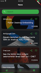 Flutter News APK screenshot thumbnail 3