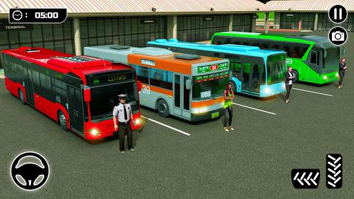 City Passenger Coach Bus Simulator screenshot 5