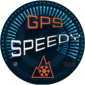 GPS Speedometer Snow