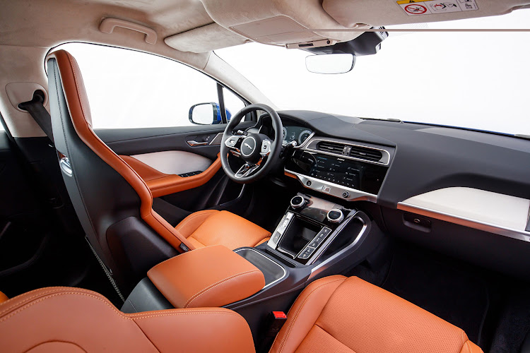 The Jaguar I-Pace interior