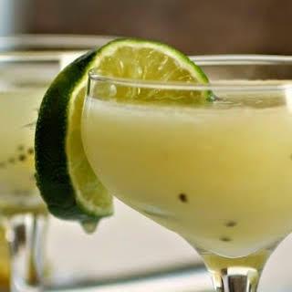 Golden Kiwi Cocktail.