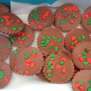 Easy ice cream Christmas pudding [and simple home made Christmas chocolates]