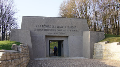 Photo: Trench of the Bayonettes, Verdun, France