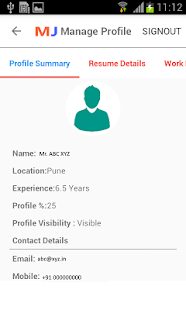 Midjobs.in Job Search- screenshot thumbnail