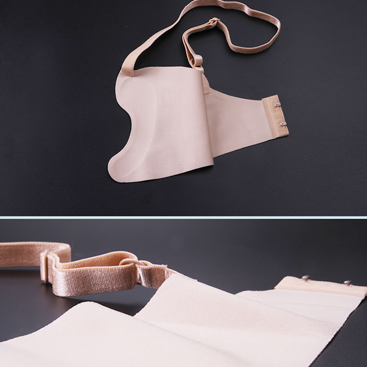 Seamless cloth bra strap attachment for Miss double d backless strapless air pump bra (1 pair straps