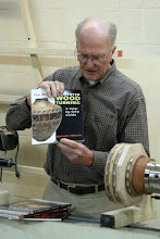 Photo: Malcolm Tibbetts book on segmented turning is a classic.