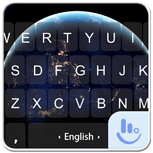 Planet Earth Keyboard Theme download