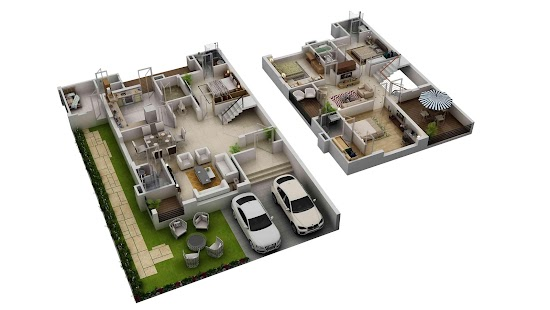 3d home floor plan ideas screenshot thumbnail - 3d Home Floor Plan