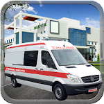 Patient Rescue Ambulance Icon