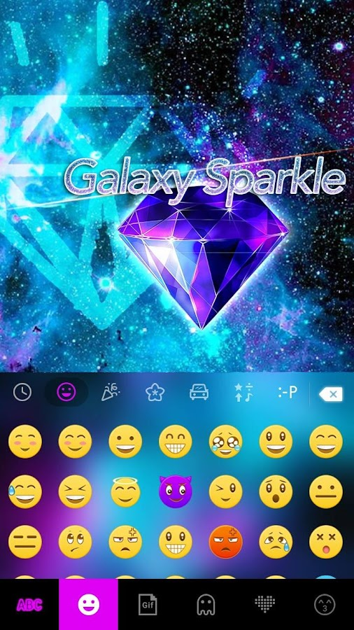 Galaxy-Sparkle-Kika-Keyboard 10