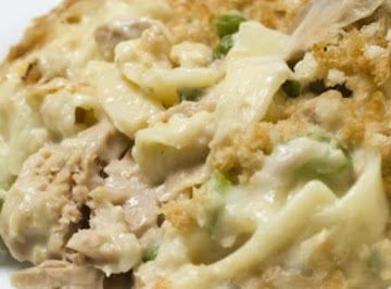 Tuna Noodle Casserole With Cream Cheese....no Canned Soup Recipe