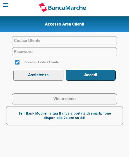 Banca Marche- screenshot
