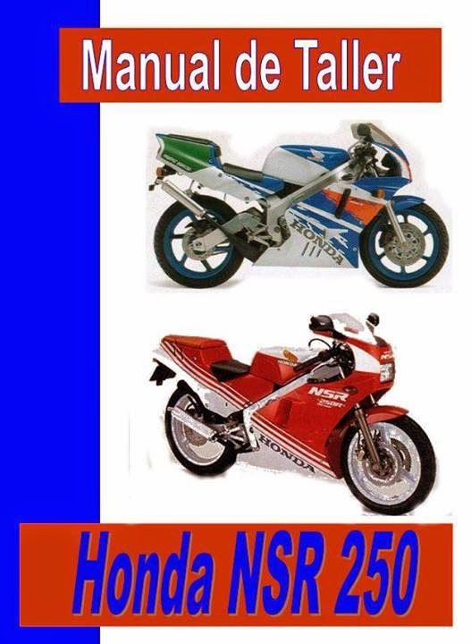 honda nsr 250 manual-taller-servicio-despiece