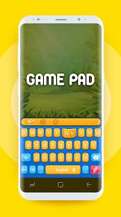 GamePad Keyboard Theme of Clash Royale Style - náhled
