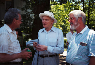Photo: John Stevens, Jim Kennedy, and John Coulthard