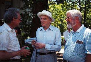 Photo: John Stevens, Jim Kennedy, and John Coulthard
