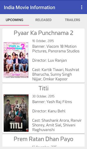 India Movie Information