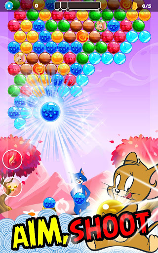 Tom Cat Pop : Jerry Bubble Pop And shooter 1.0 screenshots 3
