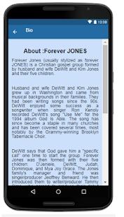 Forever JONES Music+Lyrics. - náhled