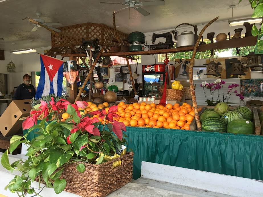 A fruit store in Little Havana