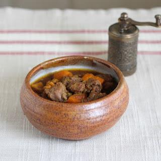 Slow Cooker Moroccan Beef Stew.