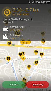 Speed Taxi Bucharest - screenshot thumbnail