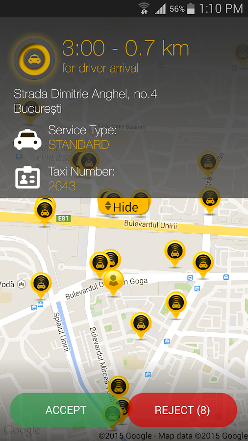 Speed Taxi Bucharest - screenshot