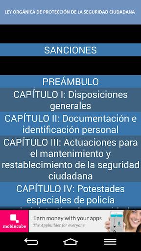 Ley de SEGURIDAD CIUDADANA