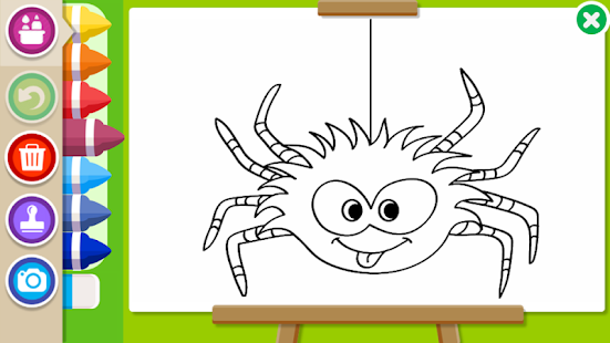 Download Halloween Coloring Book For PC Windows And Mac Apk Screenshot 23