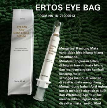 Serum Penghilang Kantung Mata Ertos Eye Bag Dark Circle Serum | Mata Panda | Injeksi Orine